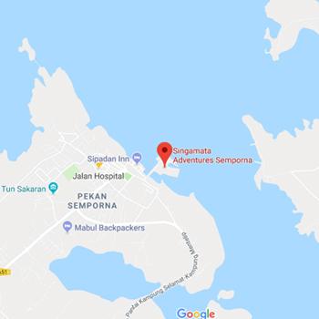 Singamata Adventures Semporna Office Location